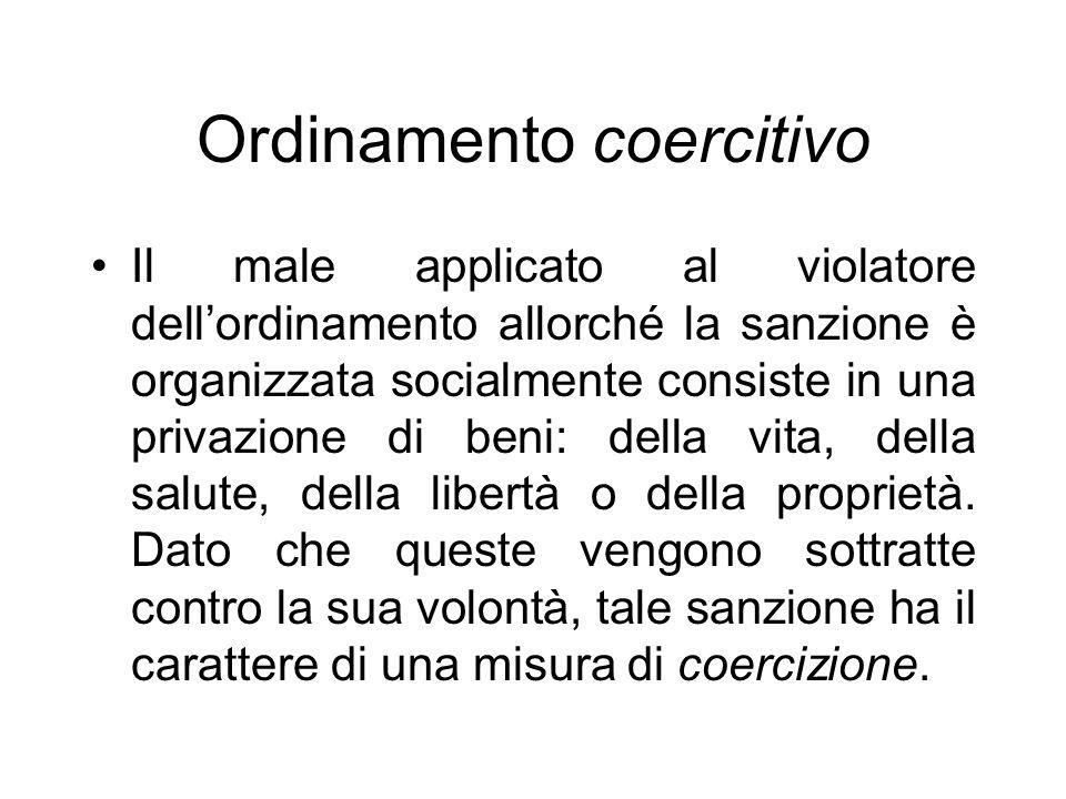 Ordinamento coercitivo