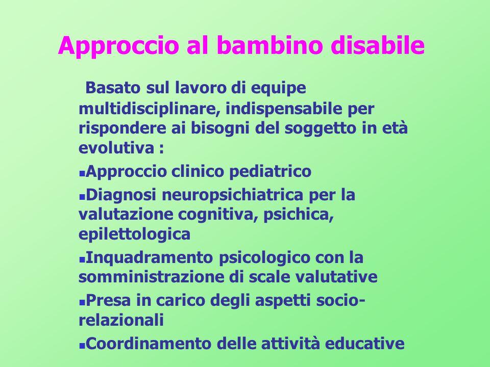 Approccio al bambino disabile