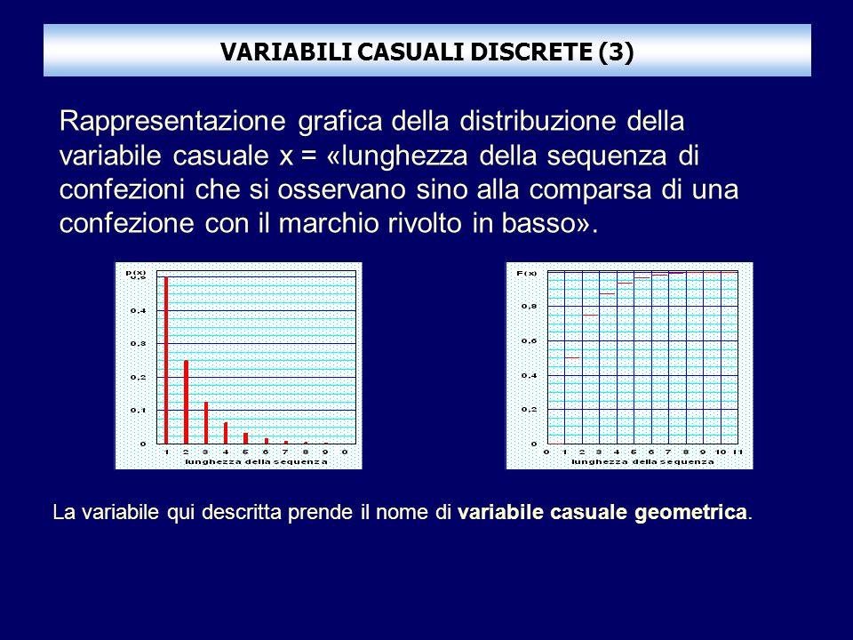 VARIABILI CASUALI DISCRETE (3)
