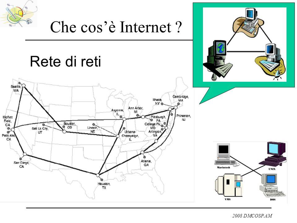Che cos'è Internet Rete di reti
