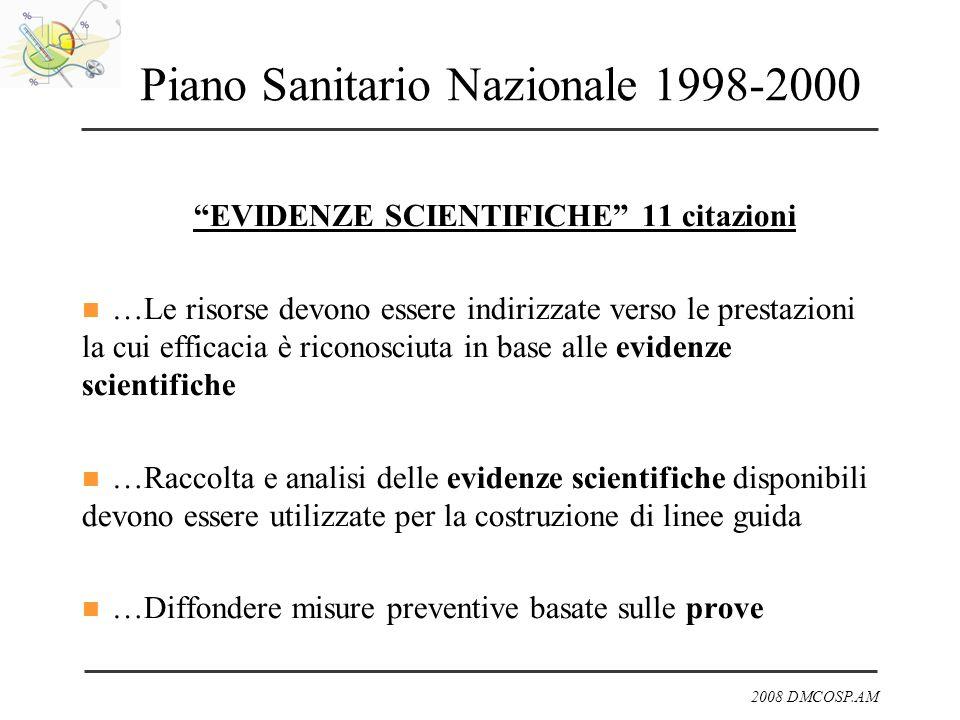Piano Sanitario Nazionale 1998-2000