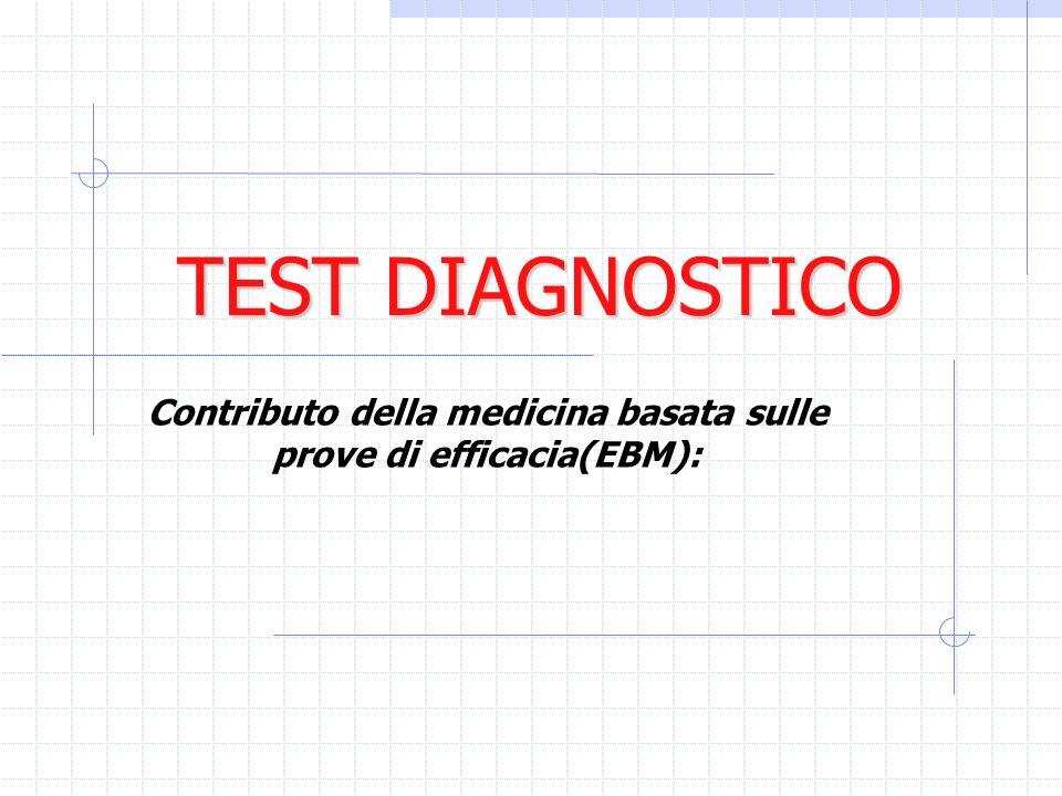Contributo della medicina basata sulle prove di efficacia(EBM):