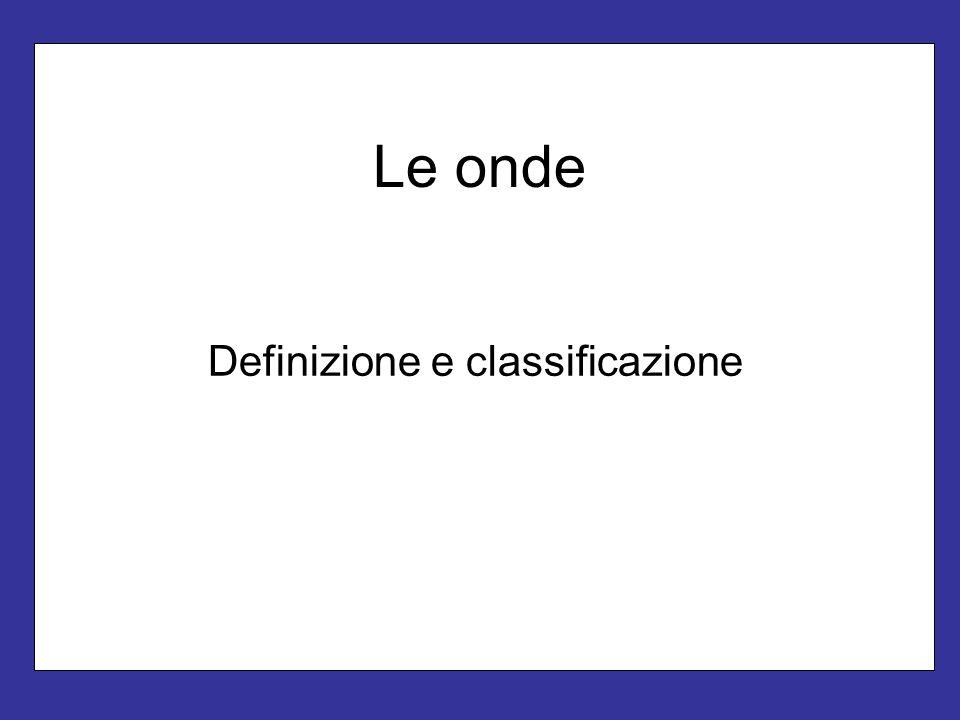 Definizione e classificazione