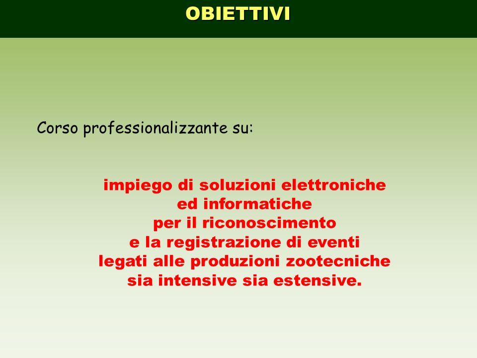 OBIETTIVI Corso professionalizzante su: