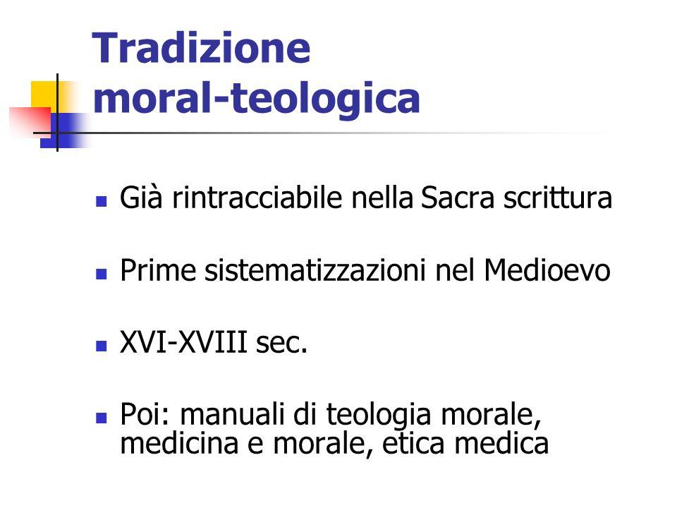 Tradizione moral-teologica