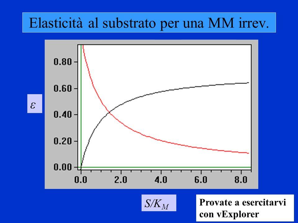 Elasticità al substrato per una MM irrev.
