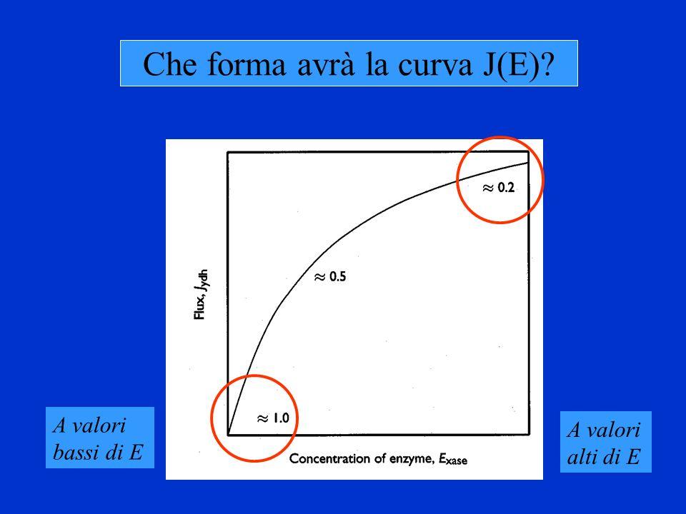Che forma avrà la curva J(E)