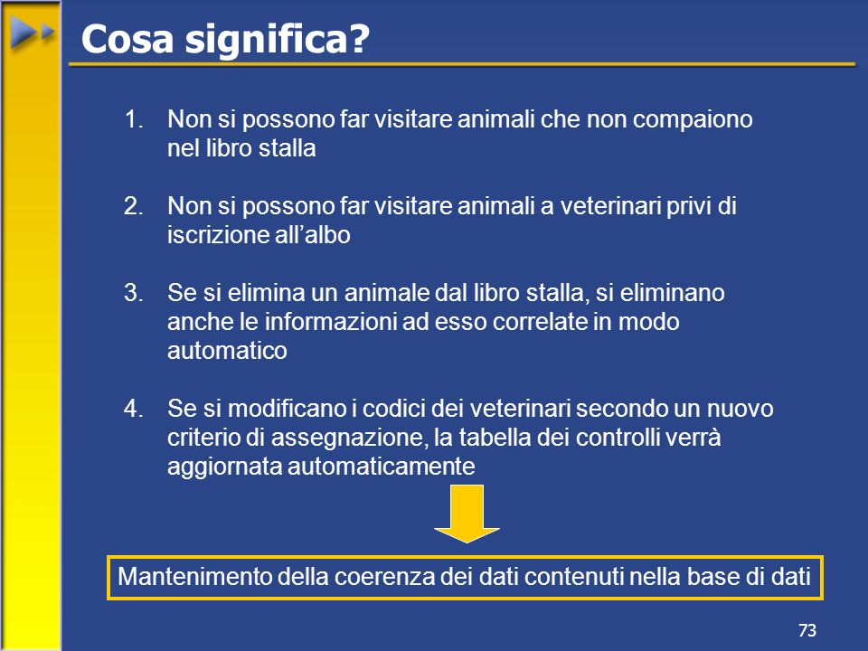 Cosa significa Non si possono far visitare animali che non compaiono nel libro stalla.