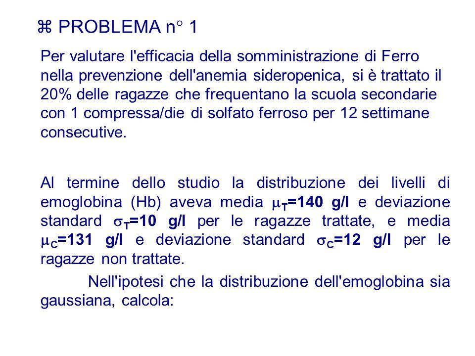  PROBLEMA n° 1