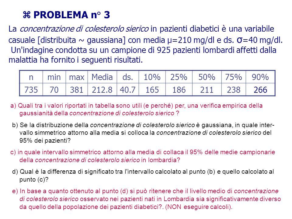  PROBLEMA n° 3