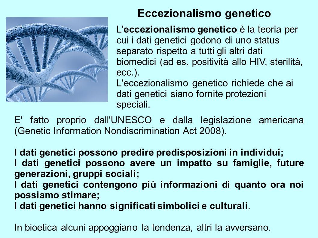 Eccezionalismo genetico