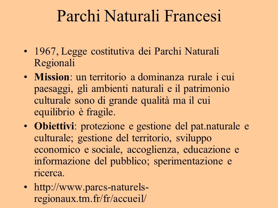 Parchi Naturali Francesi