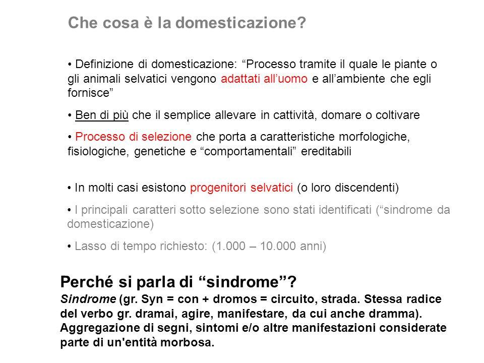 Che cosa è la domesticazione