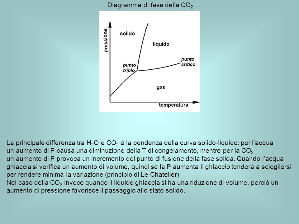 Diagramma di fase della CO2