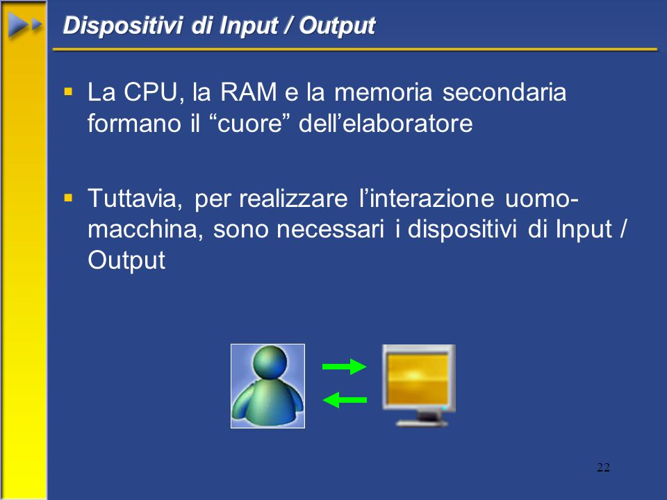 Dispositivi di Input / Output