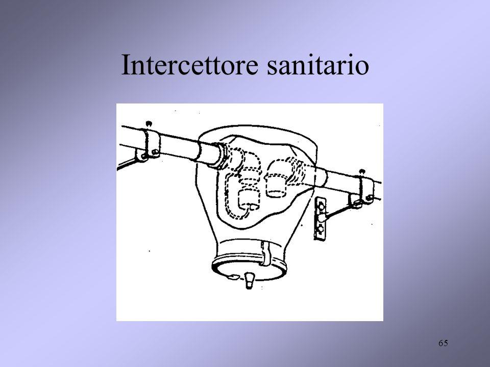 Intercettore sanitario
