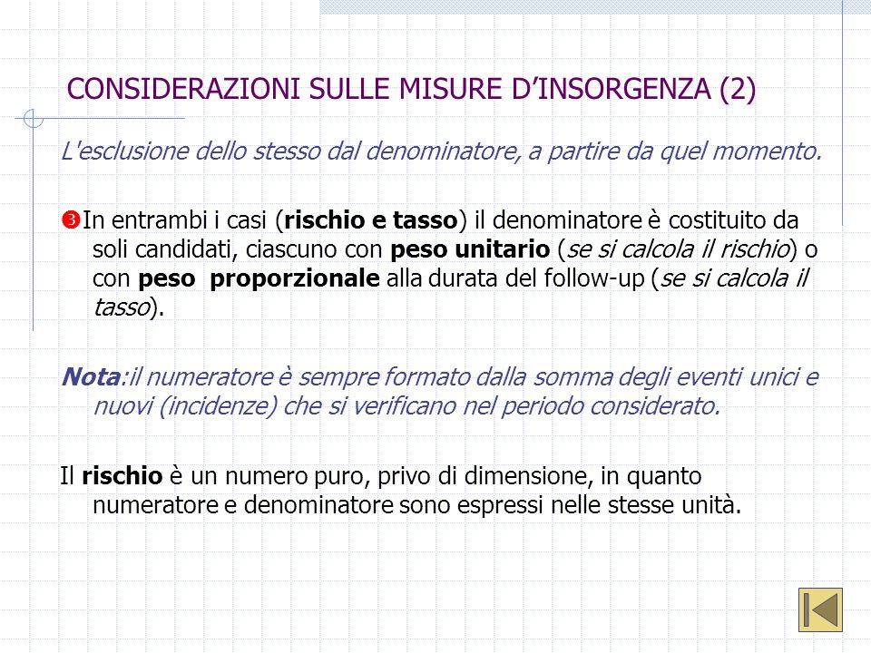 CONSIDERAZIONI SULLE MISURE D'INSORGENZA (2)