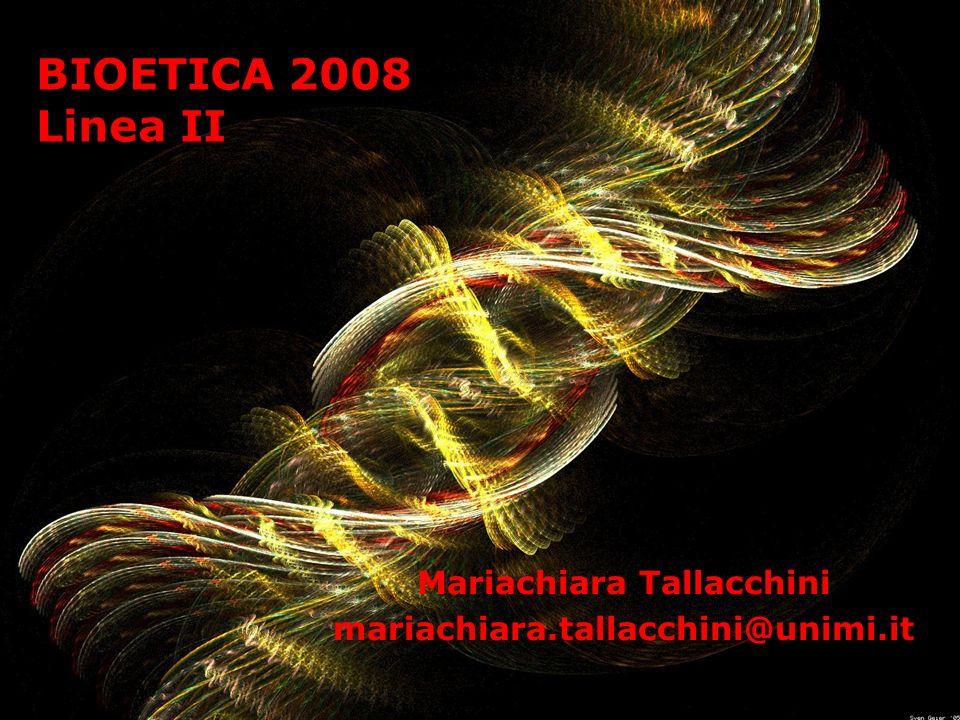 Mariachiara Tallacchini mariachiara.tallacchini@unimi.it