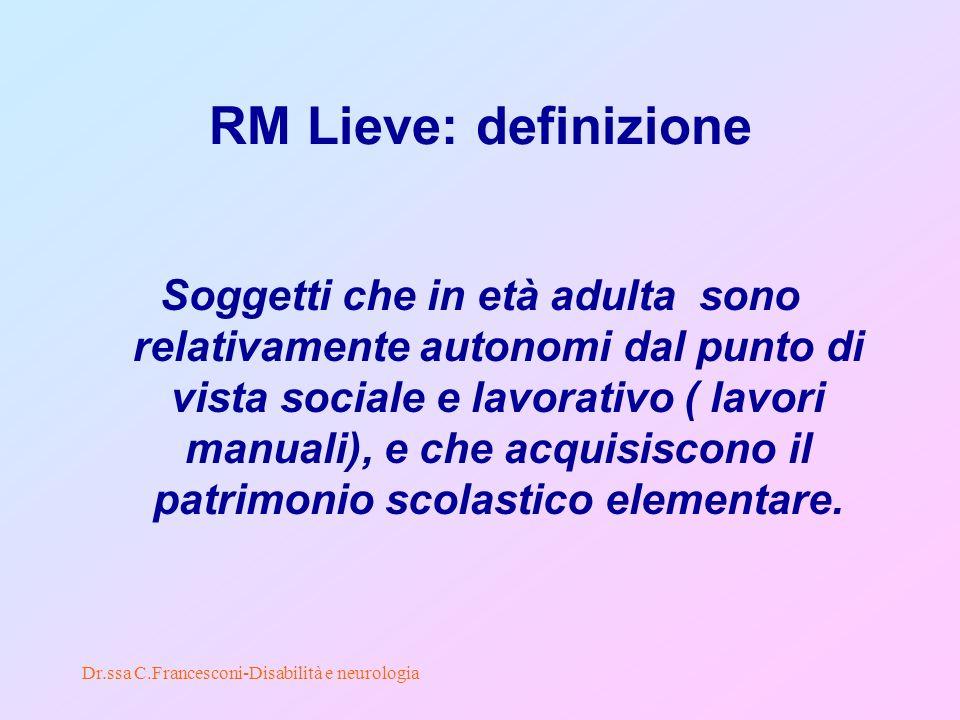 RM Lieve: definizione