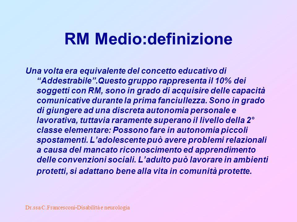 RM Medio:definizione