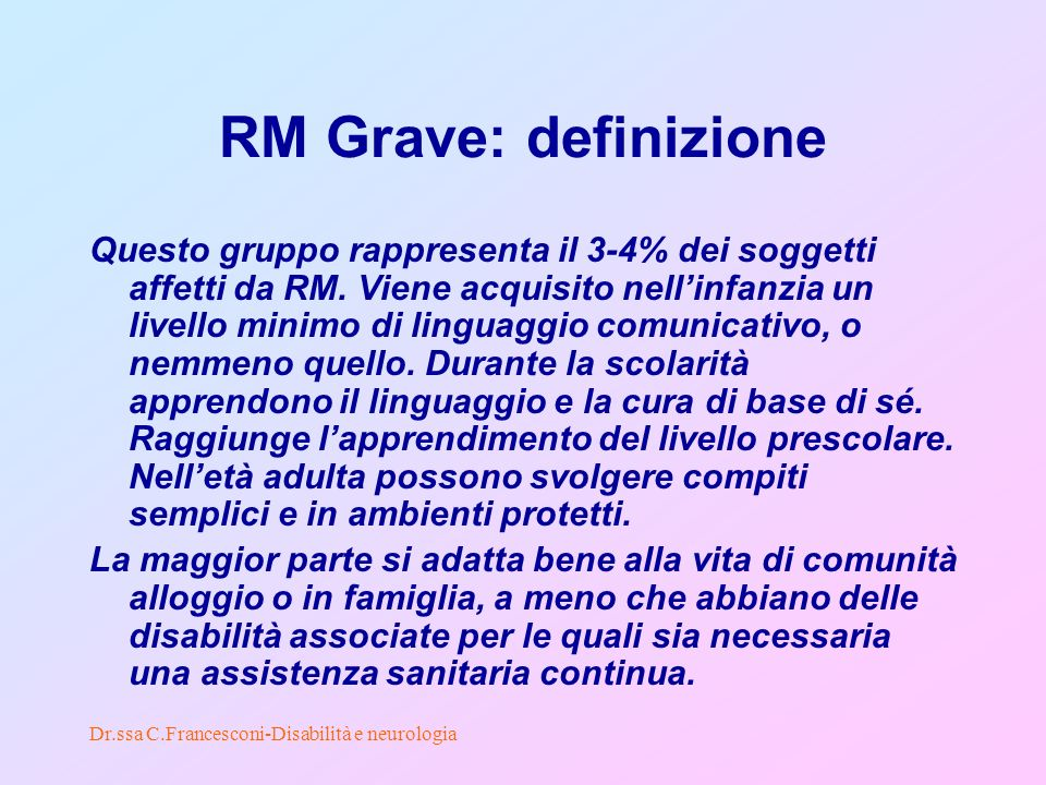 RM Grave: definizione