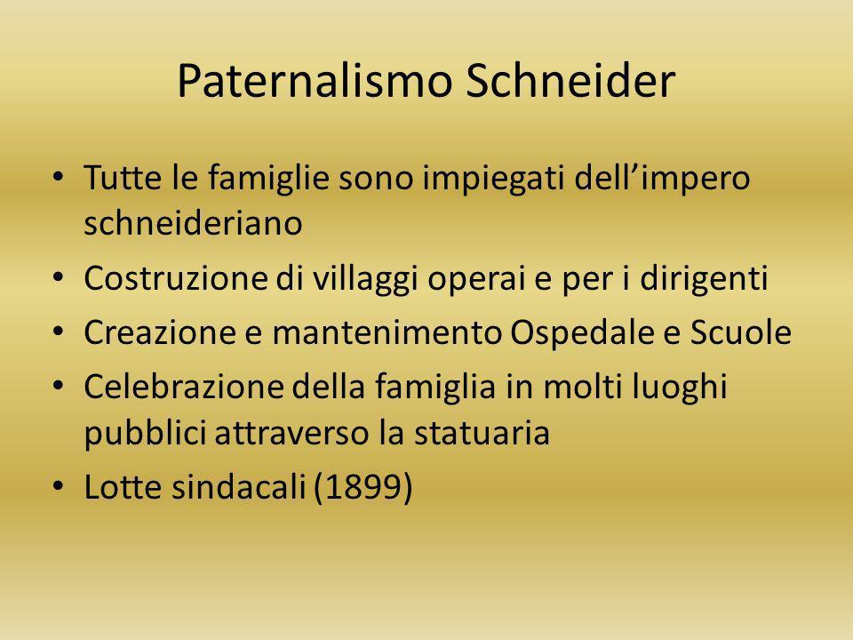 Paternalismo Schneider