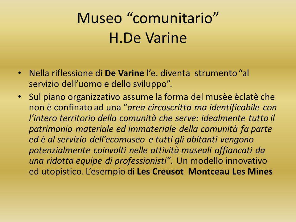 Museo comunitario H.De Varine