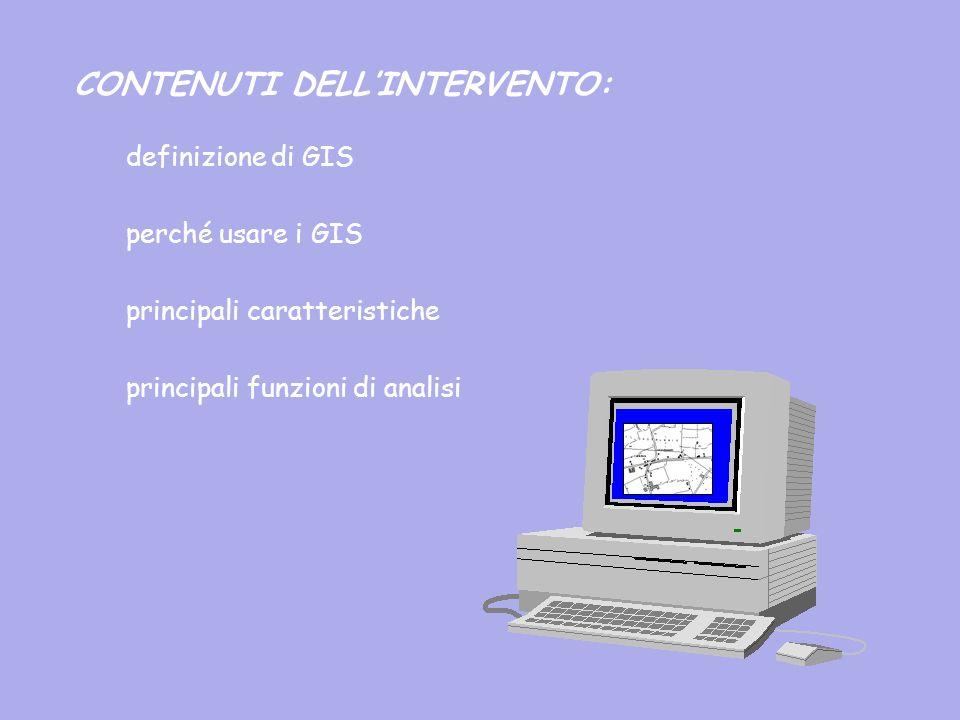 CONTENUTI DELL'INTERVENTO:
