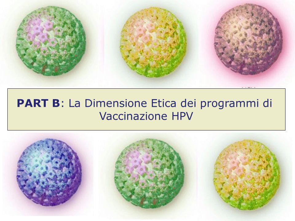 PART B: La Dimensione Etica dei programmi di