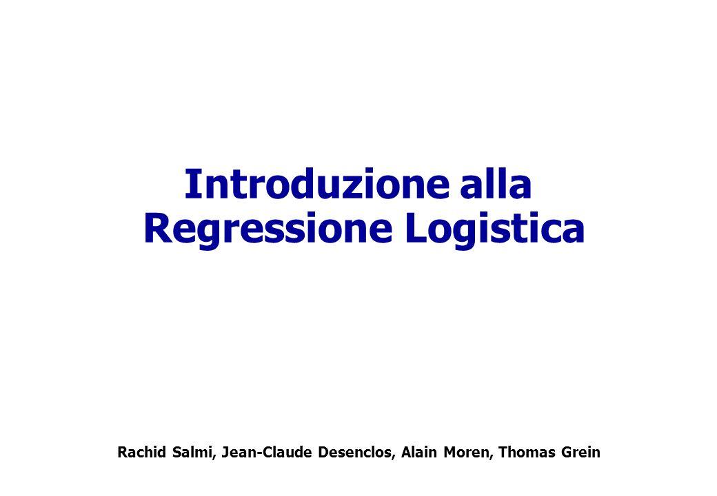 Introduzione alla Regressione Logistica
