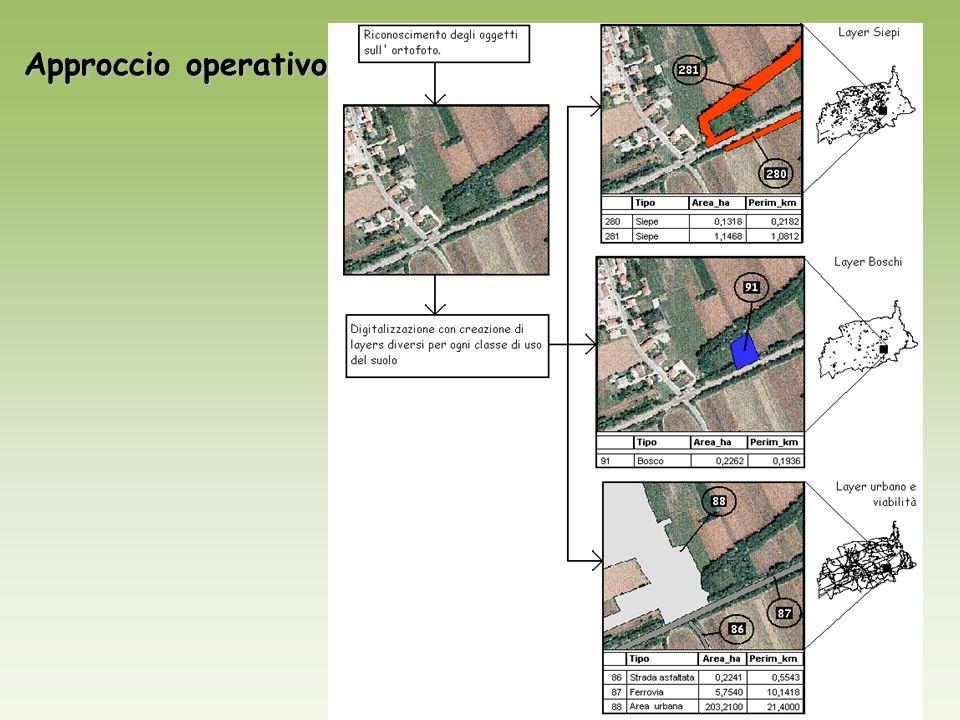 Approccio operativo
