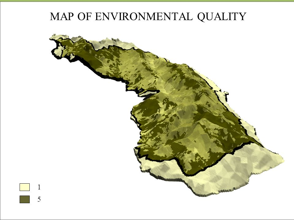 MAP OF ENVIRONMENTAL QUALITY