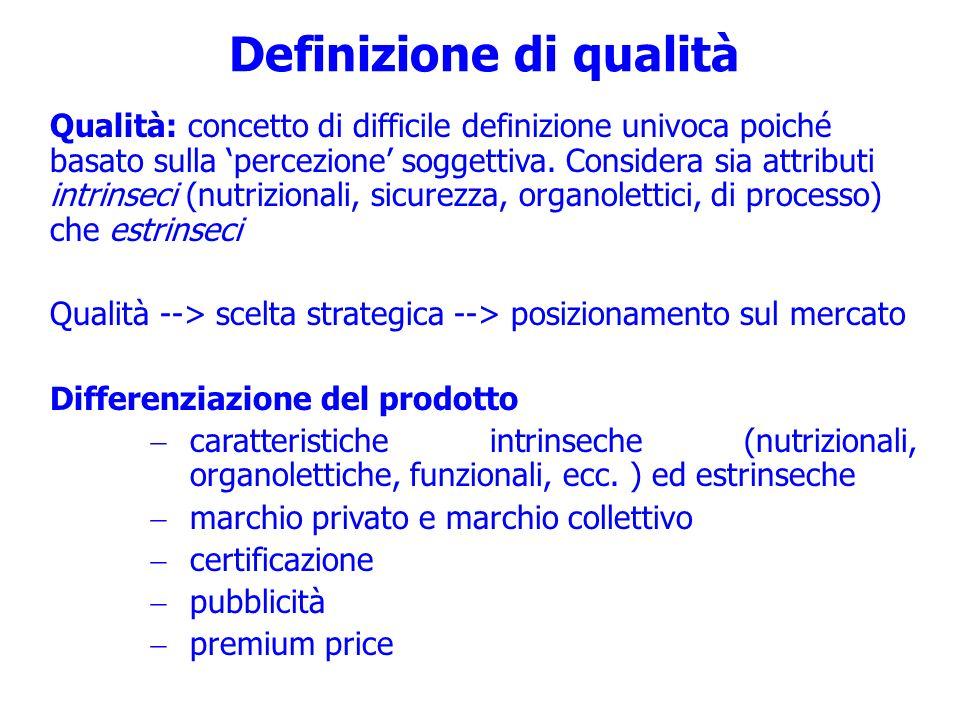 Definizione di qualità