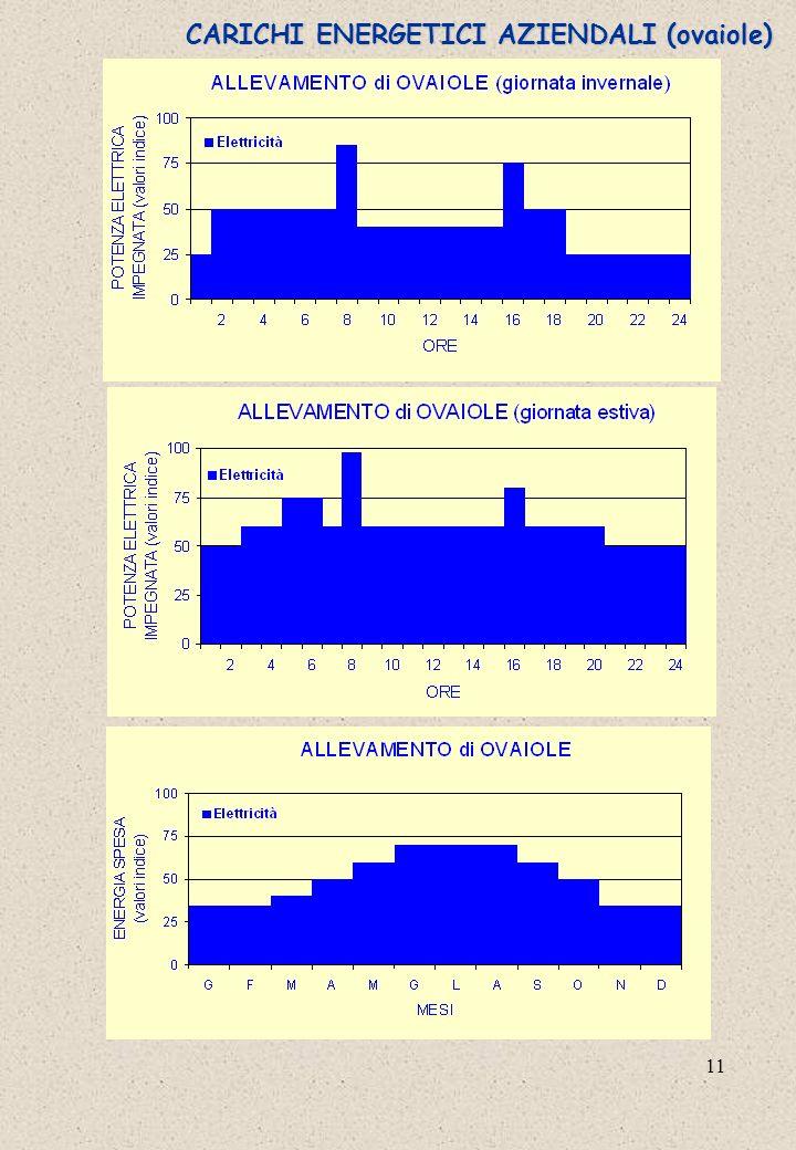 CARICHI ENERGETICI AZIENDALI (ovaiole)