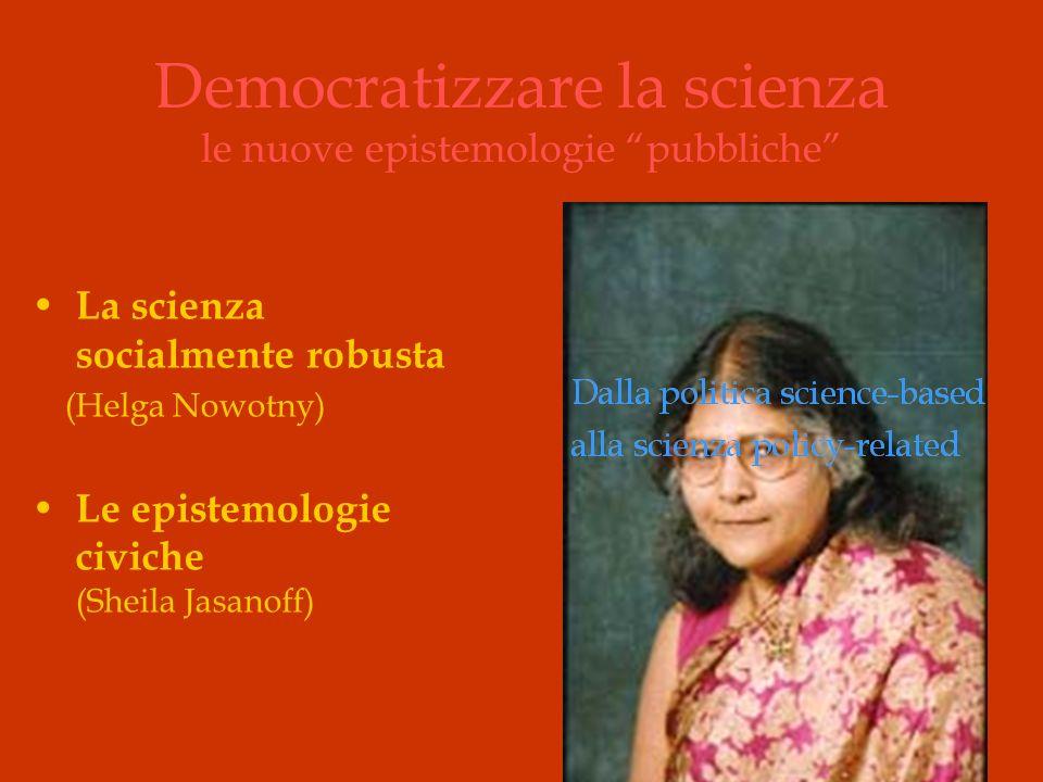 Democratizzare la scienza le nuove epistemologie pubbliche