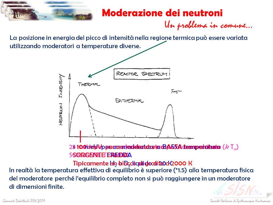 Moderazione dei neutroni
