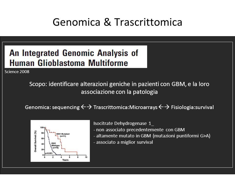 Genomica & Trascrittomica