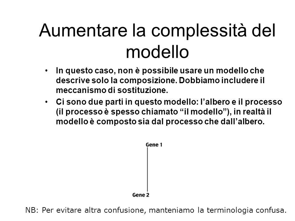Aumentare la complessità del modello