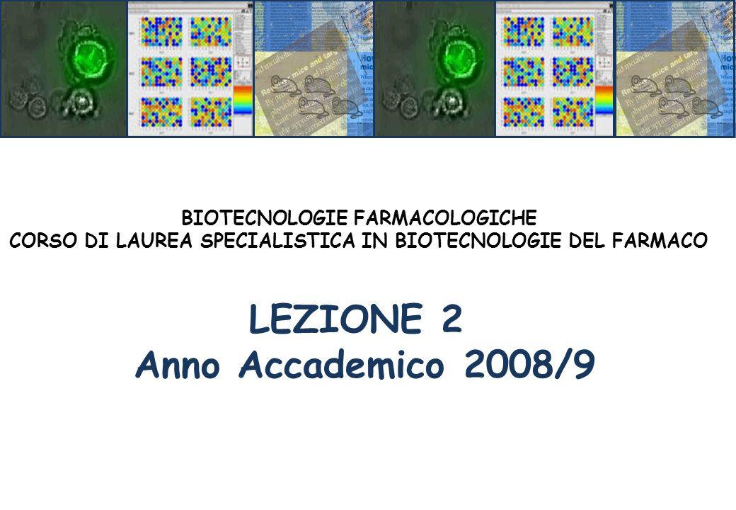 LEZIONE 2 Anno Accademico 2008/9