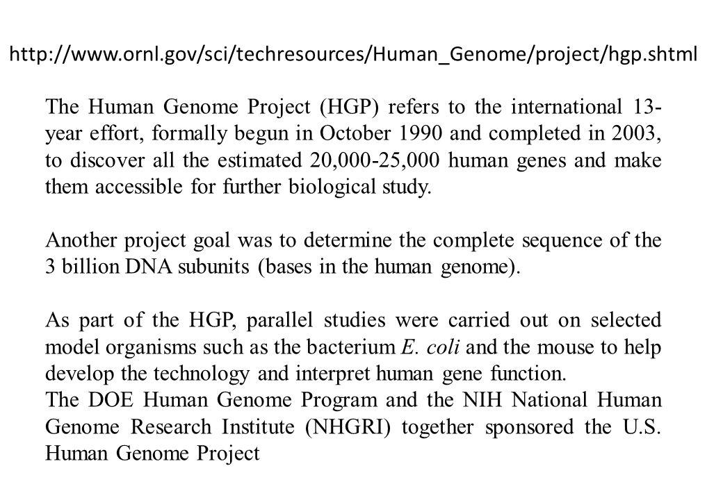 http://www.ornl.gov/sci/techresources/Human_Genome/project/hgp.shtml