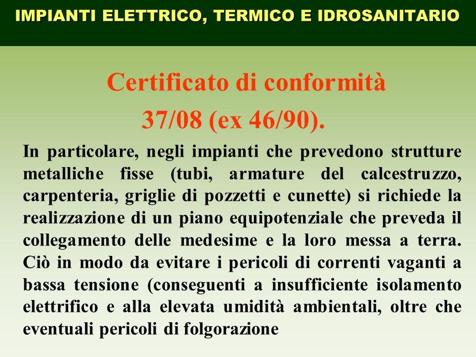 Certificato di conformità
