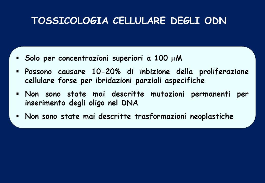 TOSSICOLOGIA CELLULARE DEGLI ODN