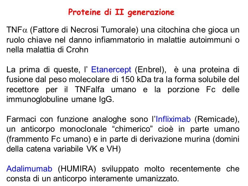 Proteine di II generazione