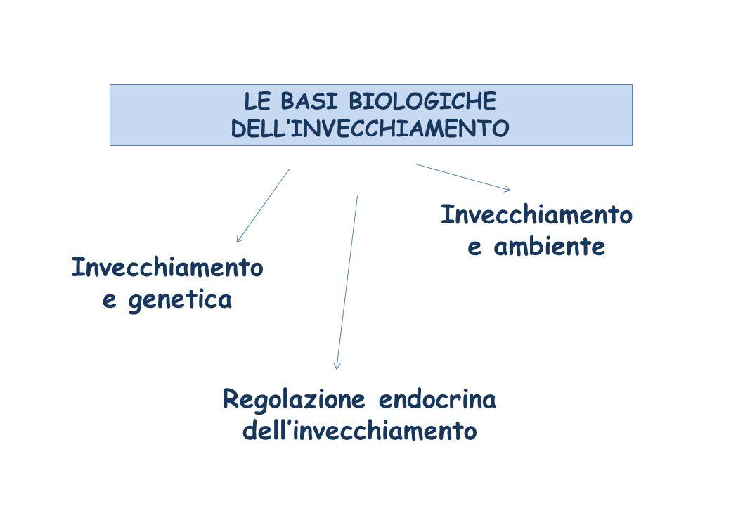 LE BASI BIOLOGICHE DELL'INVECCHIAMENTO