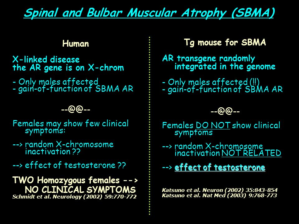 Spinal and Bulbar Muscular Atrophy (SBMA)