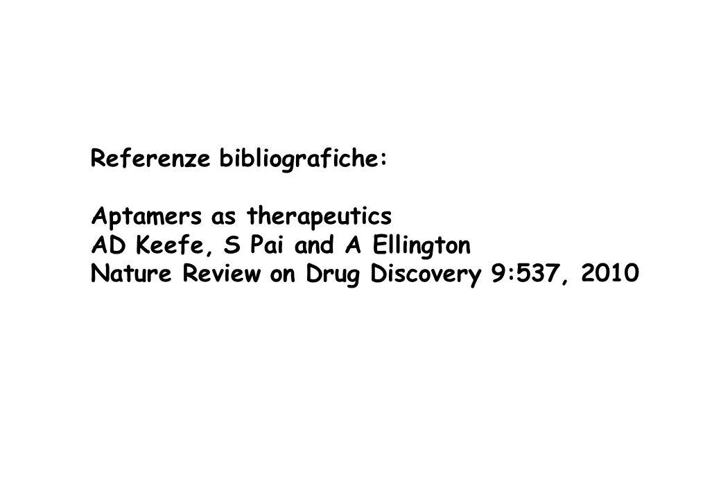 Referenze bibliografiche: