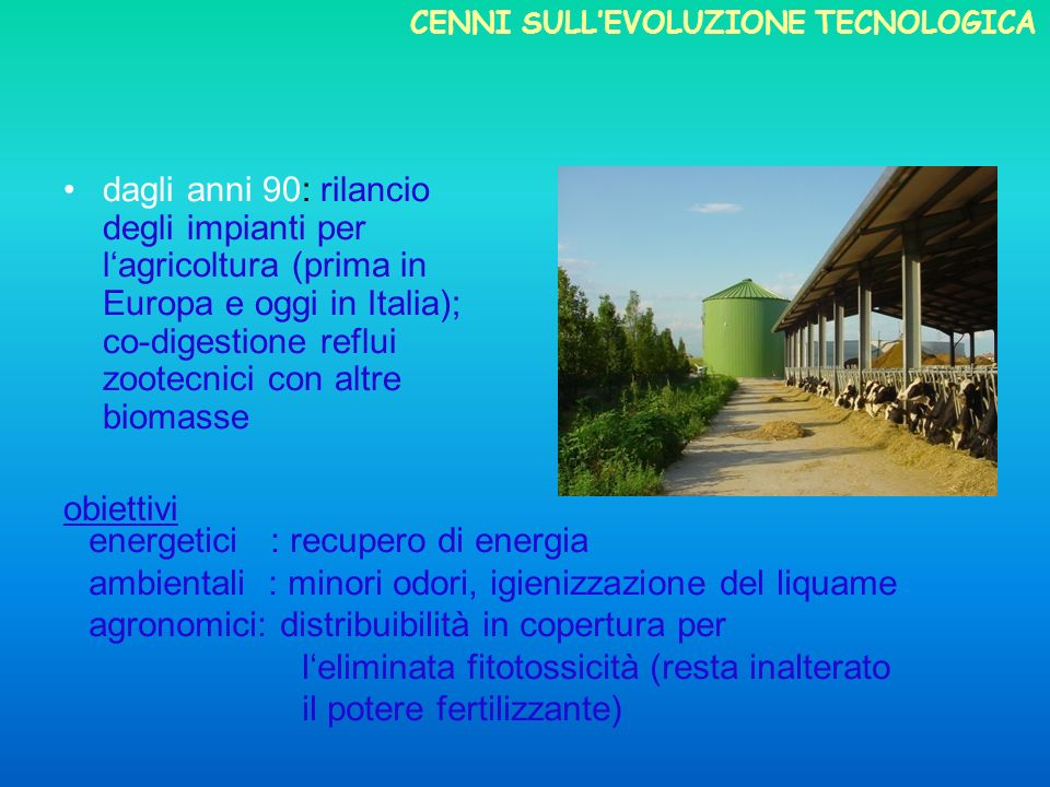 energetici : recupero di energia