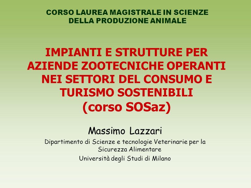CORSO LAUREA MAGISTRALE IN SCIENZE DELLA PRODUZIONE ANIMALE