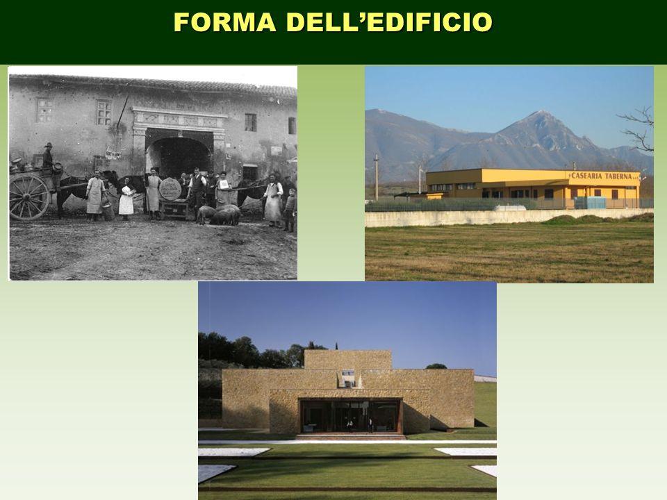 FORMA DELL'EDIFICIO