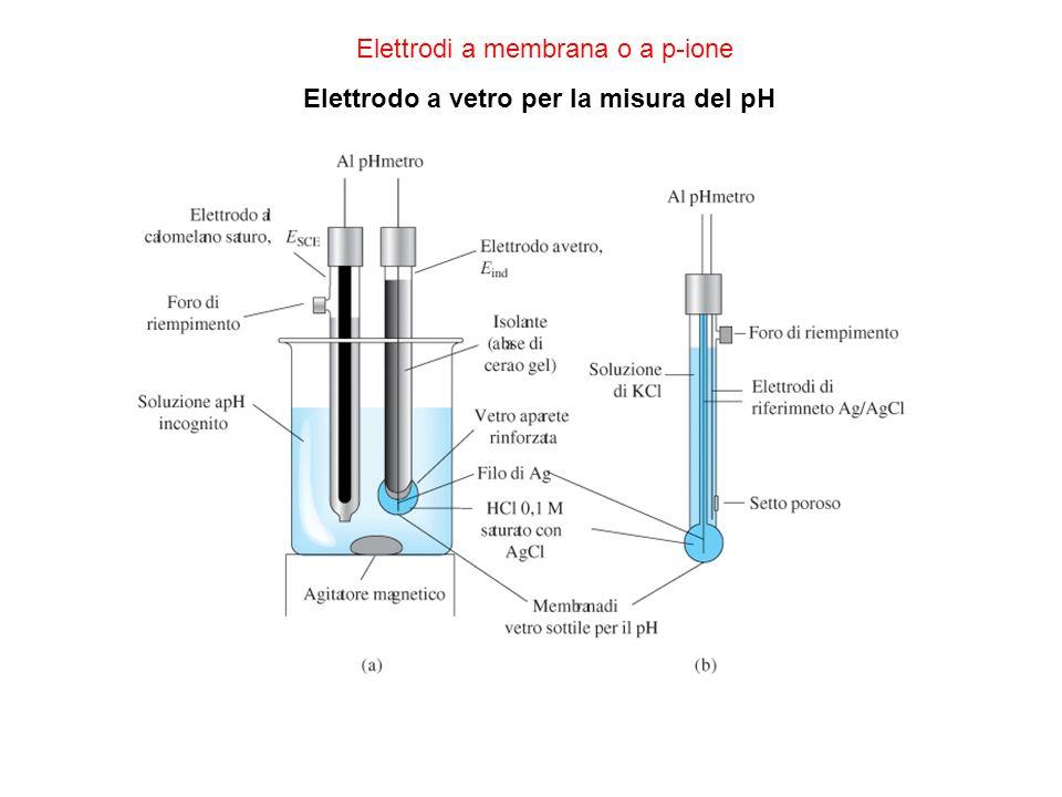 Elettrodi a membrana o a p-ione